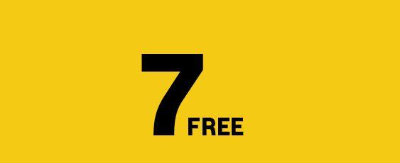 7 FREE NIGHTS